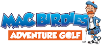 Mac Birdies Adventure Golf Logo